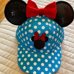 Disney Minnie Mouse baseball hat